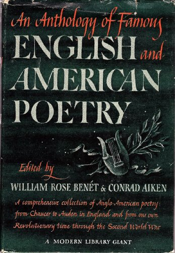 An Anthology of Famous English and American Poetry