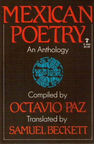 9780394620862: Mexican Poetry and Anthology