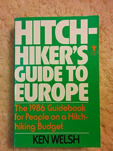 9780394621548: Hitchhiker's Guide to Europe: The 1986 Guidebook for People on a Hitchhiking Budget