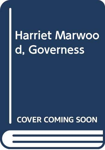 9780394622064: Harriet Marwood, Governess