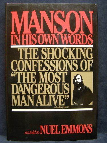 9780394622590 Manson In His Own Words Abebooks Charles Emmons
