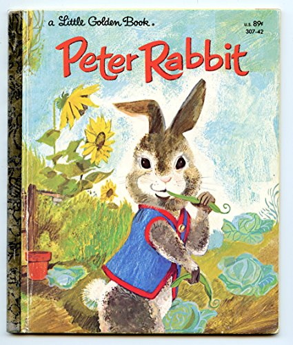 9780394623382: The Tale Of Peter Rabbit (A Little Golden Book)