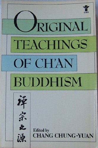 9780394624174: Original Teachings of Ch'an Buddhism: Selected from the Transmission of the Lamp