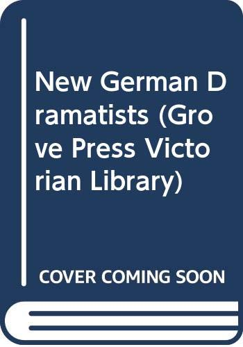 9780394624877: New German Dramatists (Grove Press Victorian Library)