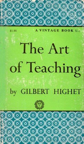 9780394700014: The Art of Teaching