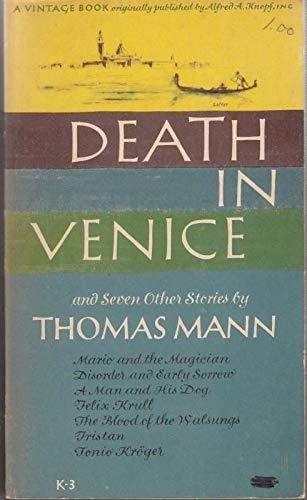 DEATH IN VENICE V3: Mann, Thomas