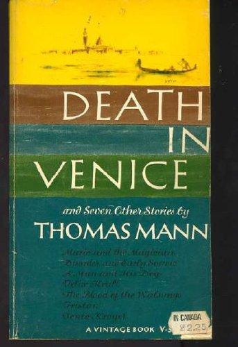 9780394700038: DEATH IN VENICE V3