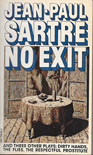 9780394700168: NO EXIT & 3 PLAYS V16