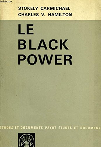 9780394700335: Black Power: The Politics of Liberation in America