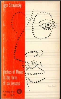 9780394700397: Poetics of Music in the Form of Six Lessons