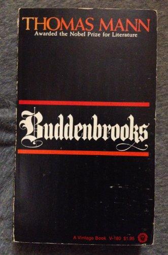 9780394701806: Buddenbrooks