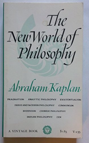 9780394702353: The New World of Philosophy