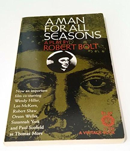 9780394703213: Man for All Seasons (Vintage)