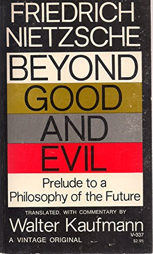 9780394703374: Beyond Good and Evil: Prelude to a Philosophy of the Future