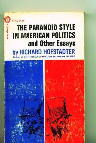9780394703855: Paranoid Style in American Politics