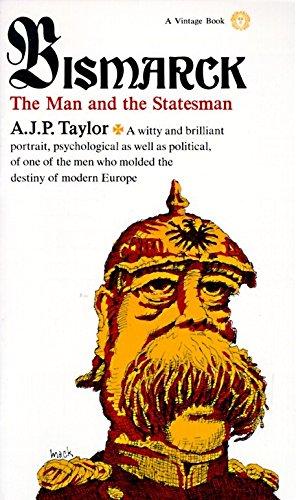 9780394703879: Bismarck: The Man and Statesman