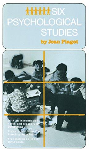 9780394704623: Six Psychological Studies