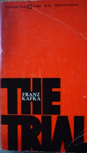 The Trial, Definitive Edition: Kafka, Franz, translated
