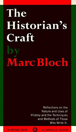 9780394705125: The Historian's Craft: Reflections on the