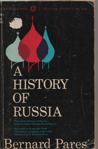9780394705255: History of Russia