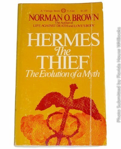 Hermes the Thief: The Evolution of a Myth 9780394705446 Hermes is a vital and complex figure in Greek mythology―trickster and culture hero, divine child and patron of stealthy action, master of magic words, seducer and whisperer. Shepherd, artisan, herald, musician, athlete, merchant―who is this tricky shape-shifter, confronting us at every turn? In this classic, prescient work (first published in 1947 and foreshadowing all subsequent work greeting the return of the gods), Brown asks: Is Hermes the Thief the prototype from which, by extension and analogy, the Trickster was derived? Alternatively, is the notion of trickery the fundamental idea and theft merely a specific manifestation of it? This thoughtful study will be of interest to anyone wishing a fresh view of an important, often misunderstood, character of Greek mythology.