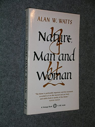 9780394705927: Nature, Man and Woman
