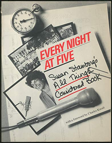 Every Night at Five, Susan Stamberg's All Things Considered Book