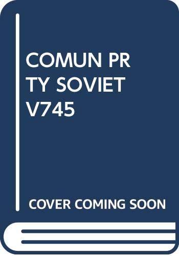 COMUN PRTY SOVIET V745: Schapiro, Leonard