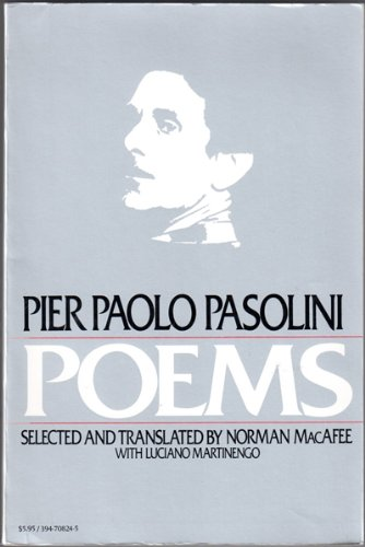 9780394708249: Pier Paolo Pasolini - Poems