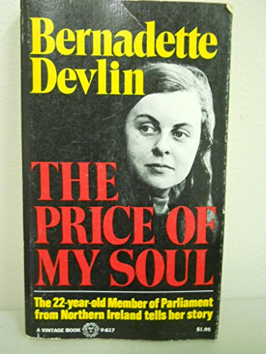 9780394708430: The price of my soul