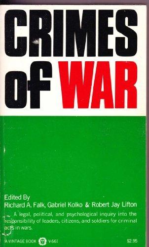 9780394708850: Crimes of War
