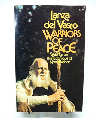 Warriors of Peace : Writings on the: Joseph Jean Lanza