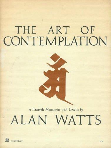 9780394709635: The Art of Contemplation: A Facsimile Manuscript with Doodles