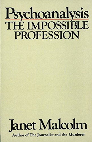 9780394710341: Psychoanalysis: The Impossible Profession