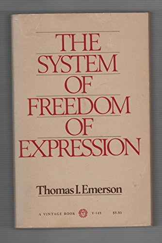 System of Freedom of Expression
