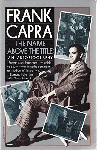 9780394712055: The Name Above the Title: An Autobiography