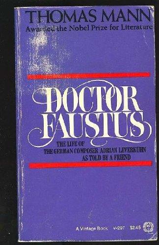 DOCTOR FAUSTUS V297: Thomas Mann