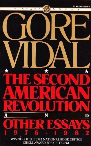 9780394713793: The Second American Revolution and Other Essays: 1976-1982
