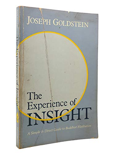9780394714301: The Experience of Insight