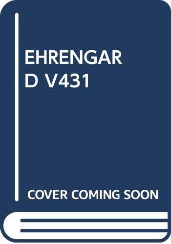9780394714318: Ehrengard V431