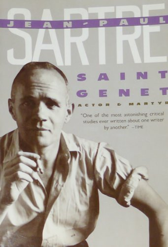 9780394715834: Saint Genet, Actor and Martyr