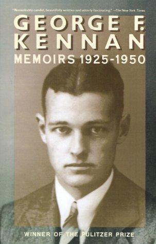9780394716244: George F. Kennan: Memoirs 1925-1950