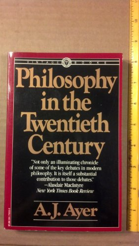 9780394716558: Philosophy in the Twentieth Century