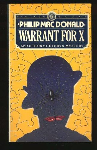 9780394716602: Warrant For X (Anthony Gethryn)