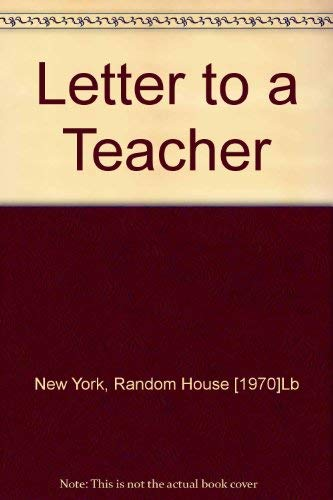 Letter to a Teacher by the Schoolboys: Schoolboys Of Barbiana: