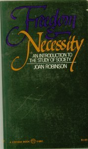 9780394716824: Freedom & Necessity: An Introduction to the Study of Society (Vintage V-682)
