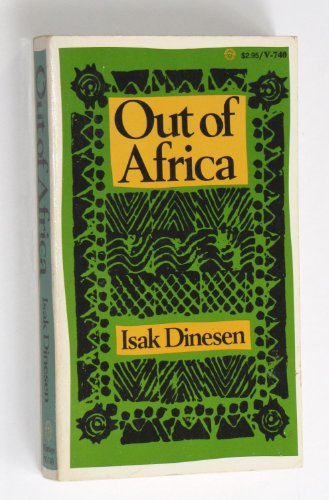 9780394717401: Out of Africa (Vintage Books, V740)