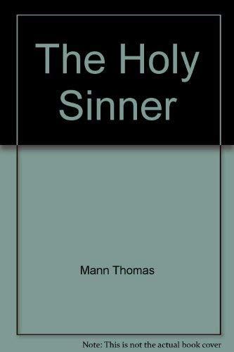 9780394717418: Holy Sinner V741