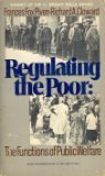 Regulating The Poor: The Functions Of Public: Frances Fox Piven,