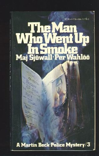 The Man Who Went up in Smoke: Sjowall, Maj; Wahloo,